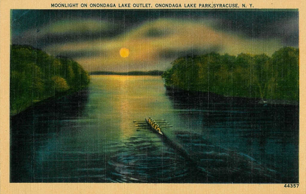 Onondaga Lake Historical Illustration